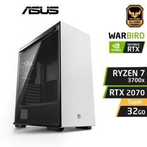 WARBIRD X7 Ryzen 7 3700X 32Go Nvidia RTX 2070 Super v2