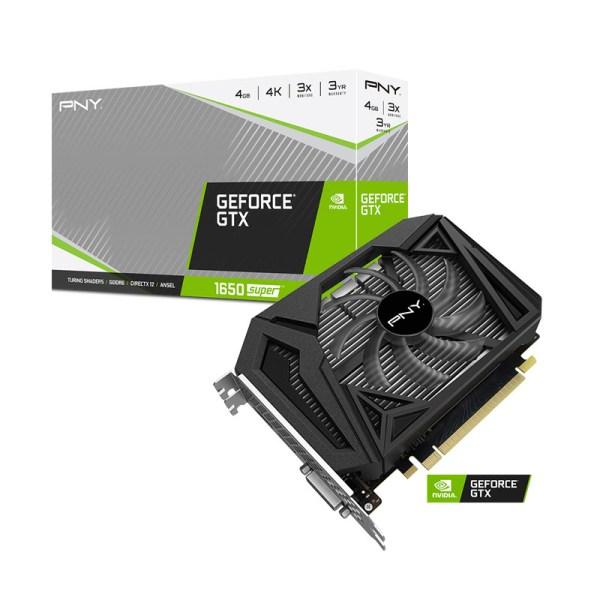 PNY GeForce GTX 1650 SUPER Single Fan face 7