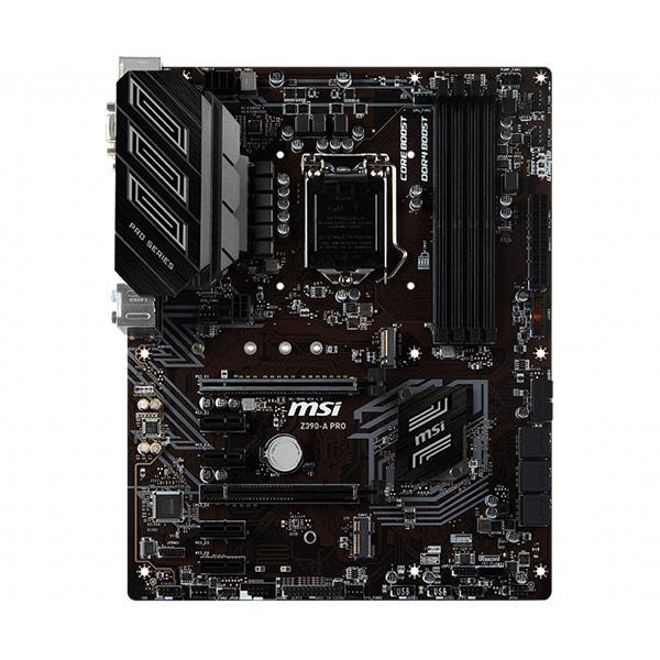 MSI Z390-A PRO Carte mère FACE 2