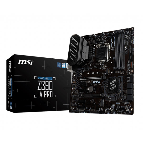 MSI Z390-A PRO Carte mère FACE 1