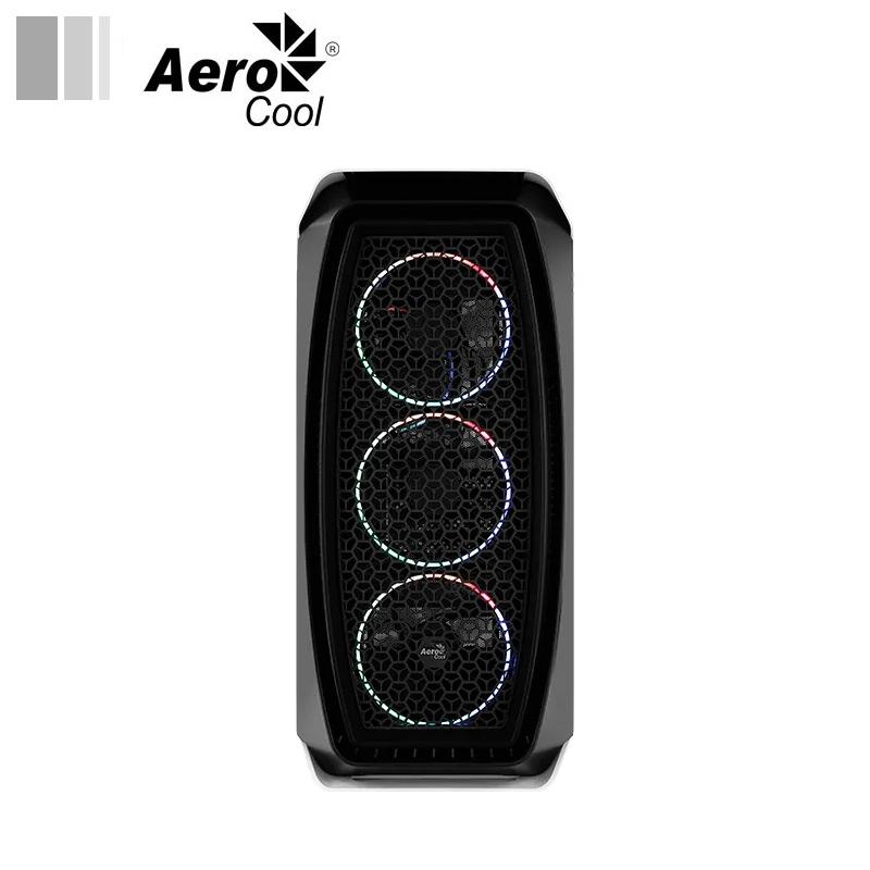 Aerocool Aero One Mini Eclipse white face 1