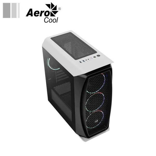 Aerocool Aero One Mini Eclipse white face 2