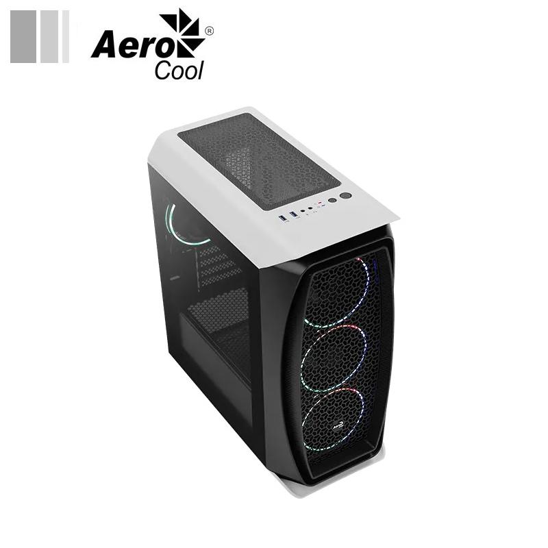 Aerocool Aero One Mini Eclipse white face 2