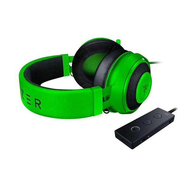 Razer Kraken Tournament Green FACE 2