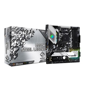 Carte mère ASRock B550M Steel Legend