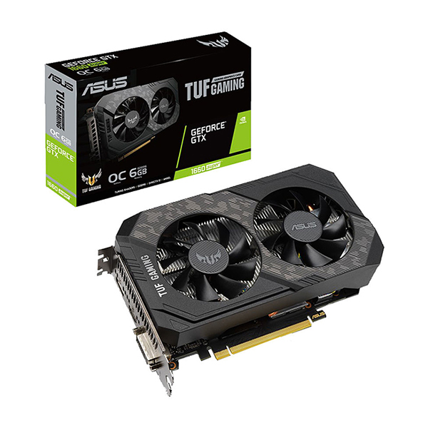ASUS GeForce GTX 1660 SUPER OC TUF Édition 6GB GDDR6