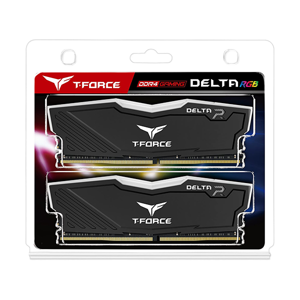 Team Group T-Force Delta 16 GB (2X8GB) 3000MHz Black FACE 3