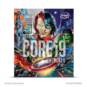 Processeur Intel Core i9-10850K BOX Avengers Limited Edition FACE