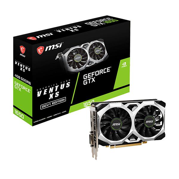 MSI GeForce GTX 1650 D6 VENTUS XS OCV1 photo 2