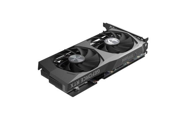 Soyez amplifié avec la série GeForce RTX ™ 30 de ZOTAC GAMING basée sur l'architecture NVIDIA Ampere. Construit avec des cœurs RT et des cœurs Tensor améliorés, de nouveaux multiprocesseurs de streaming et une mémoire GDDR6 haute vitesse, la GeForce RTX 3060 Twin Edge de ZOTAC GAMING donne lieu à des jeux amplifiés avec une haute fidélité.