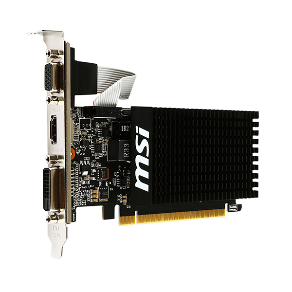 MSI GeForce GT 710 2GD3H LP 2Go