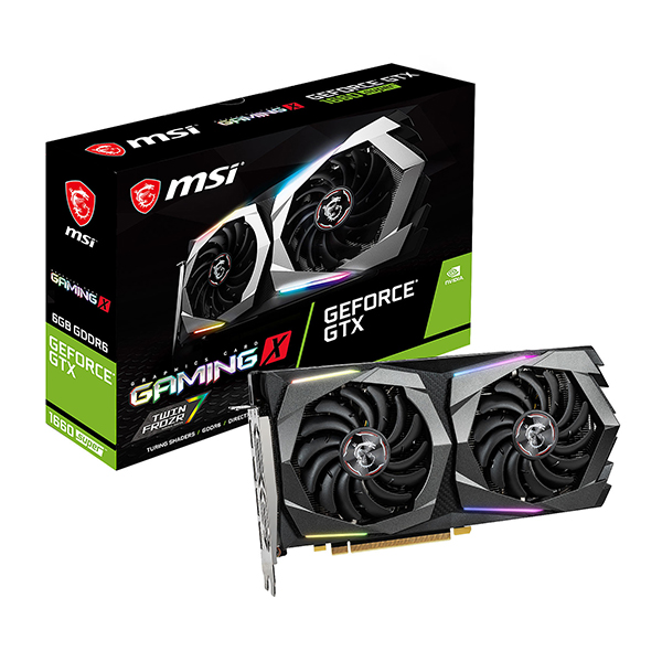 MSI GeForce GTX 1660 SUPER Gaming x 6GB