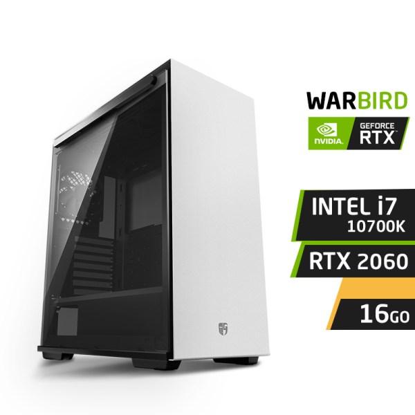 WARBIRD G10 INTEL i7-10700KF 16Go Nvidia RTX 2060