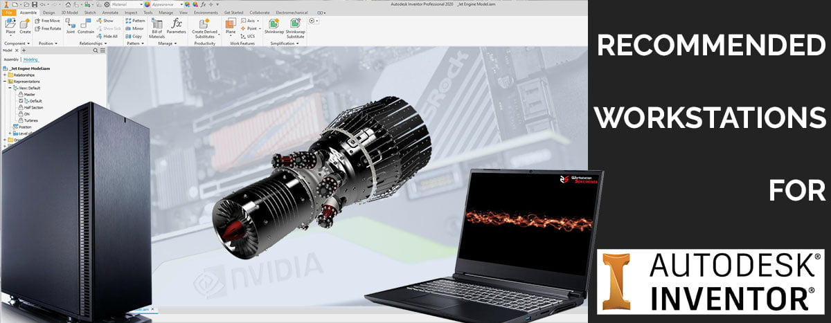Recommended Workstations For Autodesk Inventor
