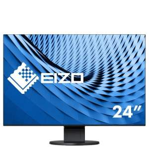"24.1"" Eizo FlexScan EV2456-BK Flush Bezel Widescreen IPS LED Monitor – 1920 x 1200"