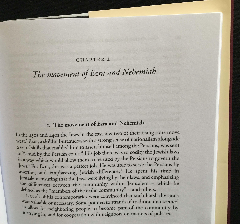 who wrote ezra and nehemiah