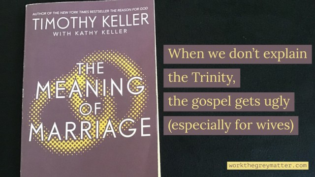Book The Meaning of Marriage Tim and Kathy Keller