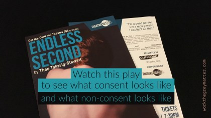Review of Endless Second play by Theo Toksvig-Stewart