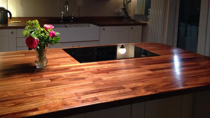 solid wood kitchen island cabinet inserts customer wooden worktop gallery page 2 - ...