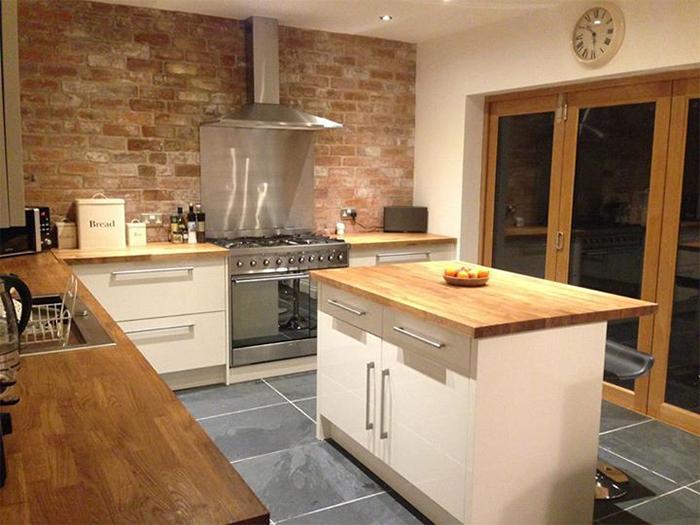 oak kitchen islands shun scissors creating bespoke hardwood worktops for worktop express information guides