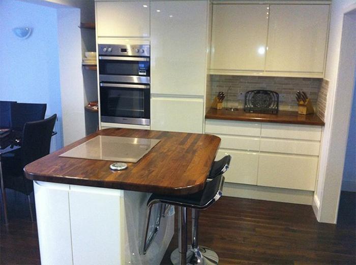Creating Bespoke Hardwood Worktops For Kitchen Islands Worktop