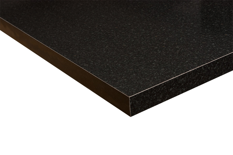 affordable kitchens kitchen cabinet inserts black gloss laminate worktops (constellation) gallery ...