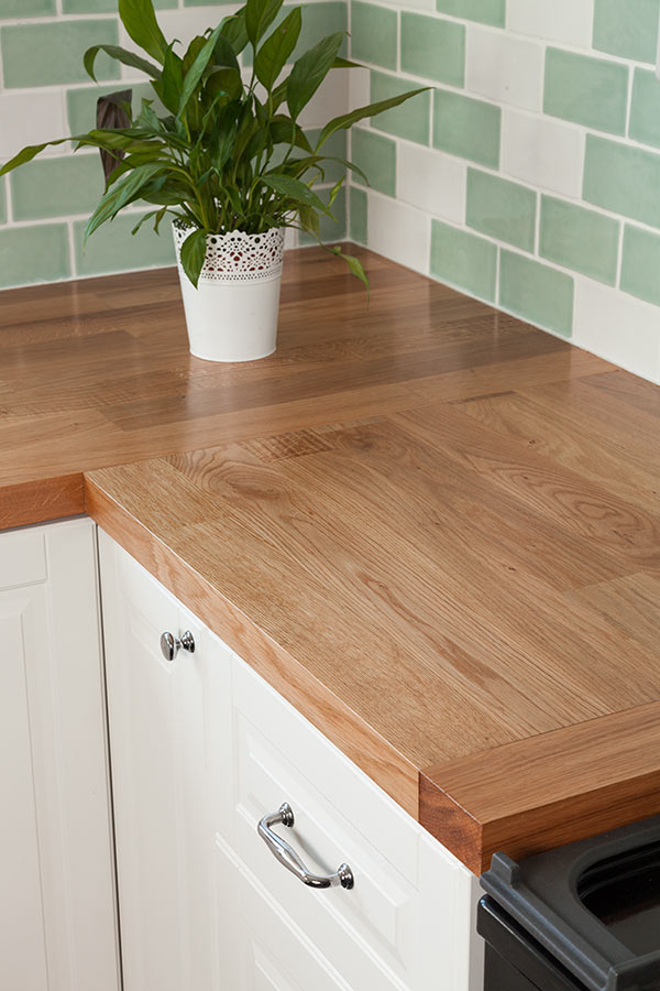 Natural Oak Cabinets