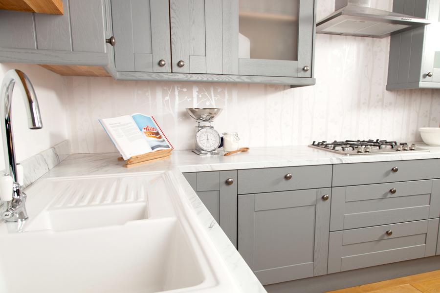 large kitchen sinks pendant light marble laminate worktops gallery (calcutta) - worktop express