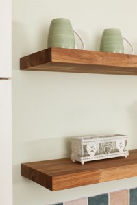 Wooden Kitchen Shelves Gallery - Worktop Express