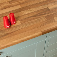 Affordable Kitchens Kitchen Garbage Can Walnut Block Laminate Worktops Gallery - Worktop Express