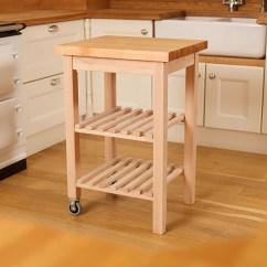 Wooden Kitchen Cart Backyard Trolleys Butcher Block Trolley Worktop Express