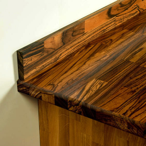 How to Install Upstands for Matching Solid Wood Kitchen