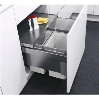 Pull Out Waste Bin For Cabinet Width 600mm