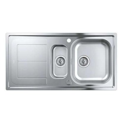 Stainless Steel Sink 1.5 Bowl Grohe K300