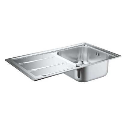 Stainless Steel Sink, Single Bowl Grohe K400 1