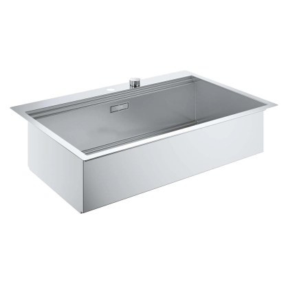 Stainless Steel Sink, Single Bowl Grohe K800 size 1024 x 560 mm (2)