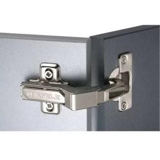 Concealed Cup Hinge, 90° Pie-Cut Corner Cabinet