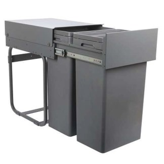 Pull Out Waste Bins Capacity 64 litres