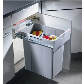 Pull Out Waste Bins 42 Litres Hailo Easy-Cargo
