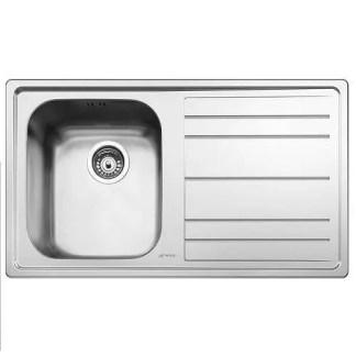 Sink Single Bowl Smeg Rigae LE861-2 R