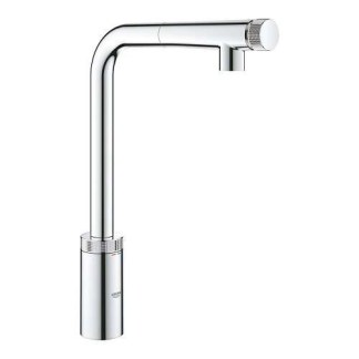 Smartcontrol Tap With Pull Out Spray Grohe Minta