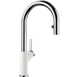Kitchen Mixer Tap Blanco Carena-s White