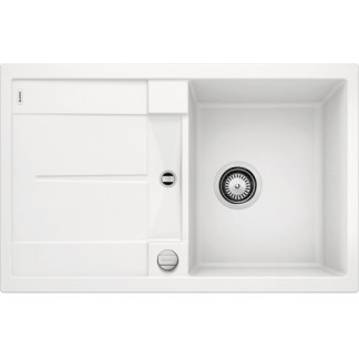 Kitchen Sink Blanco Metra 45 White