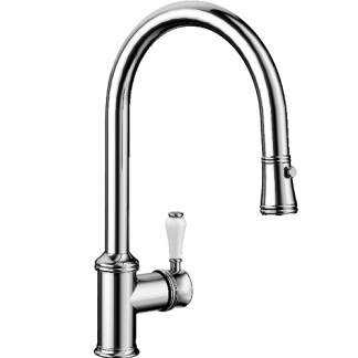 Pull Out Spray Tap Blanco Vicus Pewter