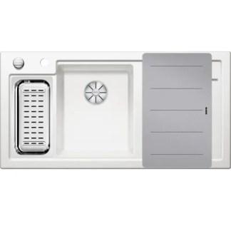 Ceramic Kitchen Sinks Blanco AXON II 6 S white