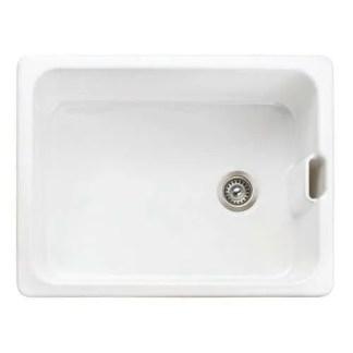 Sink, Single Bowl, Rangemaster Farmhouse Belfast CFBL595WH