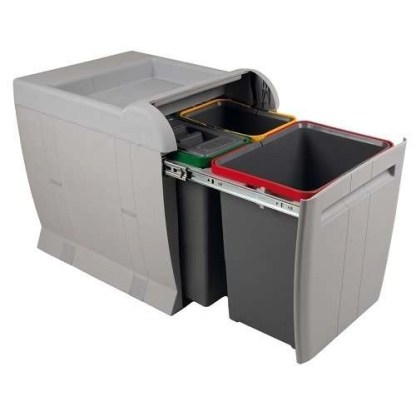 City Pull Out Waste Bin, for 450mm Cabinets