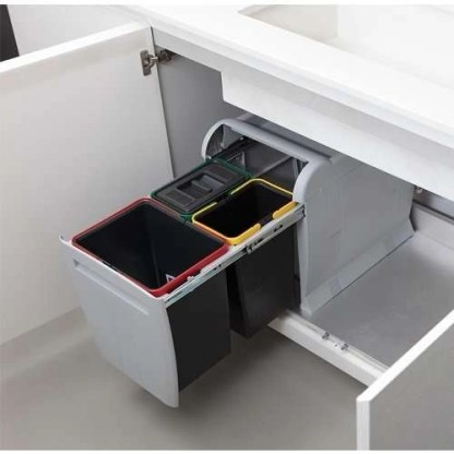 PULL-OUT BIN for KITCHEN BASE Cabinet