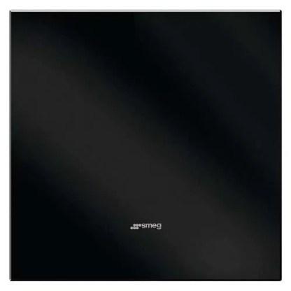 Splashback, Glass, Black, Smeg 750mm