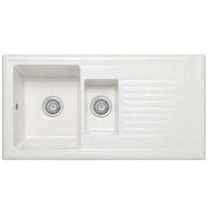 Ceramic Inset Sink Webburn 1.5 Bowls